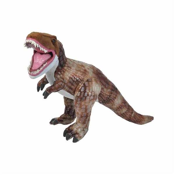 Stuffed T Rex W Plastic Teeth Predator Plush By Wild Republic