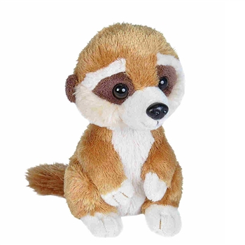 Hug Ems Small Meerkat Stuffed Animal by Wild Republic