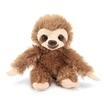 Hug Ems Small Sloth Stuffed Animal by Wild Republic