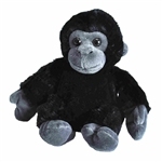 Hug Ems Small Gorilla Stuffed Animal by Wild Republic