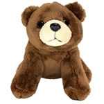Small Plush Brown Bear Lil Cuddlekins by Wild Republic