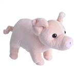Small Plush Pig Lil Cuddlekins by Wild Republic