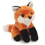 Small Plush Red Fox Lil Cuddlekins by Wild Republic