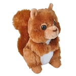 Hug Ems Small Red Squirrel Stuffed Animal by Wild Republic