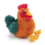 Hug Ems Small Rooster Stuffed Animal by Wild Republic