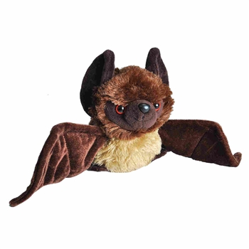 Hug Ems Small Brown Bat Stuffed Animal by Wild Republic