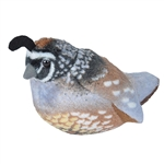 Plush California Quail Audubon Bird with Sound by Wild Republic