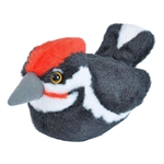 Plush Pileated Woodpecker Audubon Bird with Sound by Wild Republic