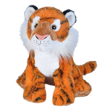 Cuddlekins Siberian Tiger Stuffed Animal by Wild Republic
