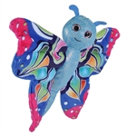 Huggers Blue Butterfly Stuffed Animal Slap Bracelet by Wild Republic
