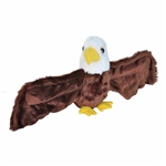 Huggers Bald Eagle Stuffed Animal Slap Bracelet by Wild Republic