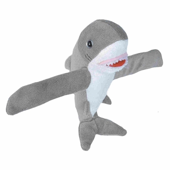 Huggers Shark Stuffed Animal Slap Bracelet by Wild Republic