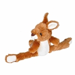 Huggers Kangaroo Stuffed Animal Slap Bracelet by Wild Republic