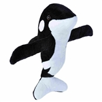 Huggers Orca Stuffed Animal Slap Bracelet by Wild Republic