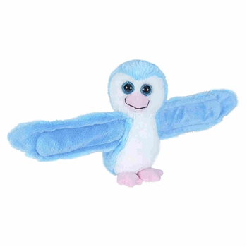 Huggers Blue Penguin Stuffed Animal Slap Bracelet by Wild Republic