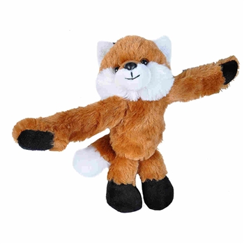 Huggers Red Fox Stuffed Animal Slap Bracelet by Wild Republic