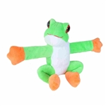 Huggers Tree Frog Stuffed Animal Slap Bracelet by Wild Republic