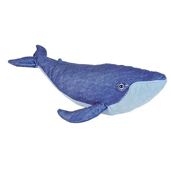 Blue Whale Stuffed Animal Wild Republic Cuddlekins Stuffed Safari