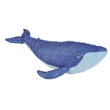 Cuddlekins Blue Whale Stuffed Animal by Wild Republic