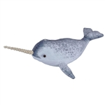 Stuffed Narwhal Living Ocean Plush by Wild Republic