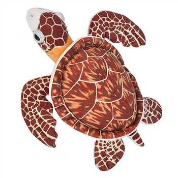 Stuffed Hawksbill Sea Turtle Mini Cuddlekins by Wild Republic