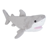 Small Stuffed Great White Shark Sea Critters Plush by Wild Republic
