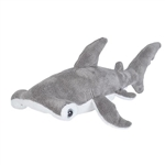 Small Stuffed Hammerhead Shark Sea Critters Plush by Wild Republic