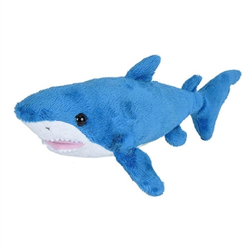 Small Stuffed Mako Shark Sea Critters Plush by Wild Republic