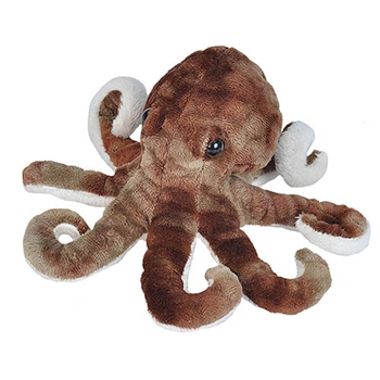 Small Stuffed Octopus Sea Critters Plush by Wild Republic