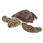 Cuddlekins Green Sea Turtle Stuffed Animal by Wild Republic