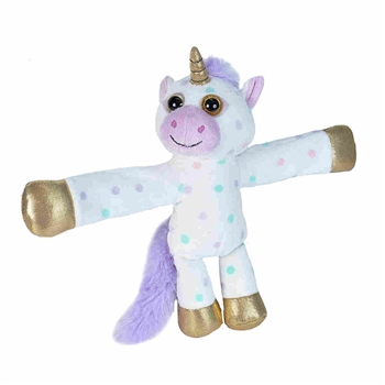 Huggers Unicorn Stuffed Animal Slap Bracelet by Wild Republic