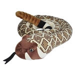 Jumbo Western Diamondback Stuffed Animal by Wild Republic