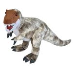 Big T Rex Stuffed Animal with Plastic Teeth by Wild Republic