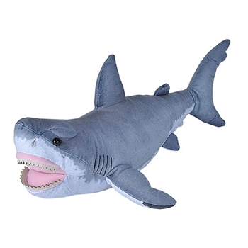 Stuffed Great White Shark Living Ocean Plush by Wild Republic