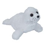 Stuffed Harp Seal Pup Mini Cuddlekins by Wild Republic