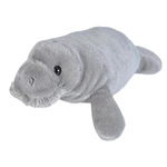Stuffed Manatee Mini Cuddlekins by Wild Republic