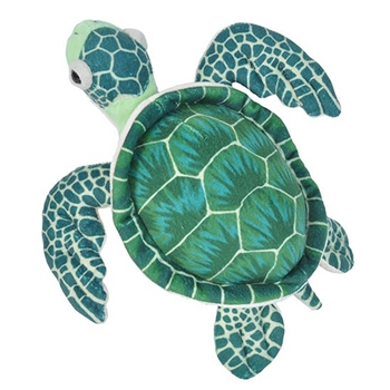 Stuffed Sea Turtle Mini Cuddlekins by Wild Republic