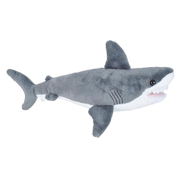 Stuffed Great White Shark Mini Cuddlekins by Wild Republic