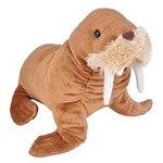 Stuffed Walrus Mini Cuddlekins by Wild Republic