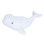 Cuddlekins Beluga Whale Stuffed Animal by Wild Republic