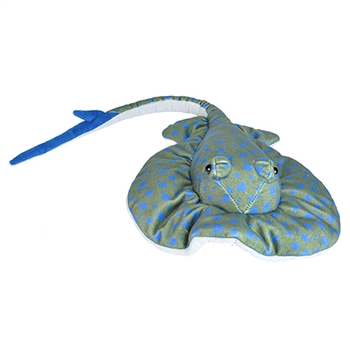 Cuddlekins Bluespotted Ray Stuffed Animal by Wild Republic