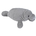 Cuddlekins Manatee Stuffed Animal by Wild Republic