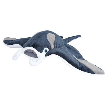 Cuddlekins Manta Ray Stuffed Animal by Wild Republic
