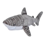 Cuddlekins Tiger Shark Stuffed Animal by Wild Republic