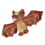 Huggers Brown Bat Stuffed Animal Slap Bracelet by Wild Republic