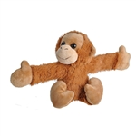 Huggers Orangutan Stuffed Animal Slap Bracelet by Wild Republic