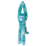 Bright Blue Hanging Monkey Stuffed Animal by Wild Republic