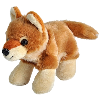 Hug 'Ems Small Coyote Stuffed Animal by Wild Republic