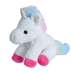 Small Plush White Unicorn Lil' Cuddlekins by Wild Republic