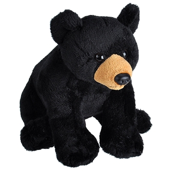 Wild Calls Stuffed Black Bear with Real Sound by Wild Republic